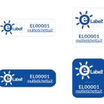 Etichetta base in 4 varianti